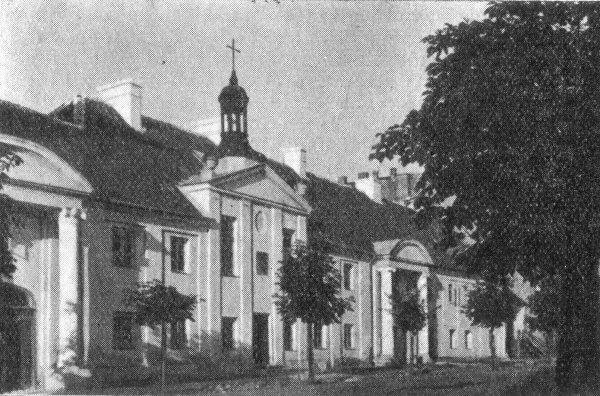 Białystok - Dom św. Marcina - Klasztor S.S. Miłosierdzia