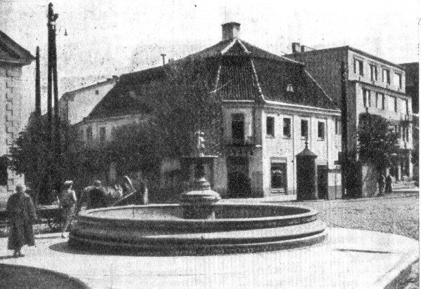 Białystok - Fontanna na Rynku Kościuszki