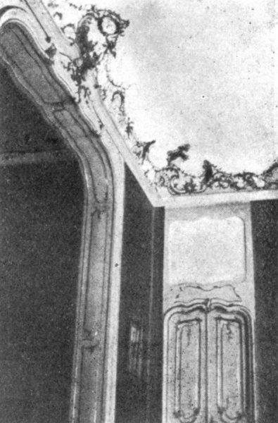 Białystok - Pałac Branickich. Motyw wnętrza niegdyś sypialni