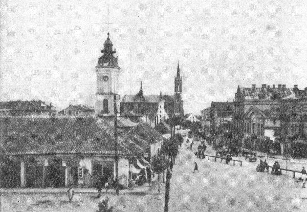 Białystok - Plac przed ratuszem