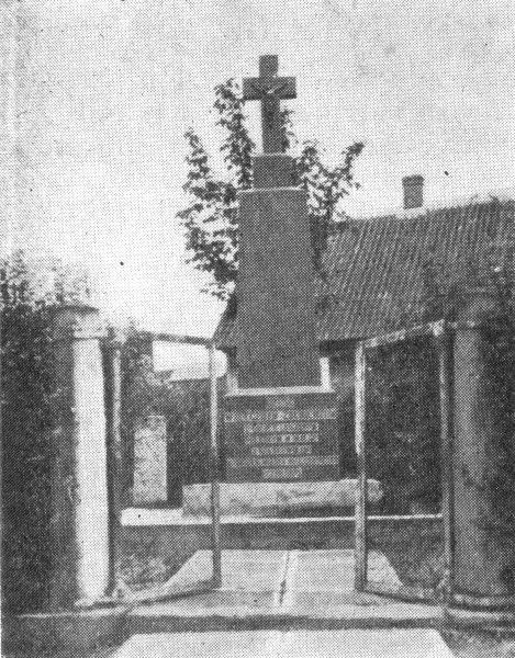 Białystok - Pomnik poległych 1 p.p. leg.