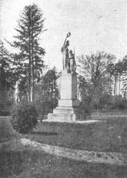 Białystok -Pomnik poległych żołnierzy białostockiego p. piechoty im. gen. J.H. Dąbrowskiego