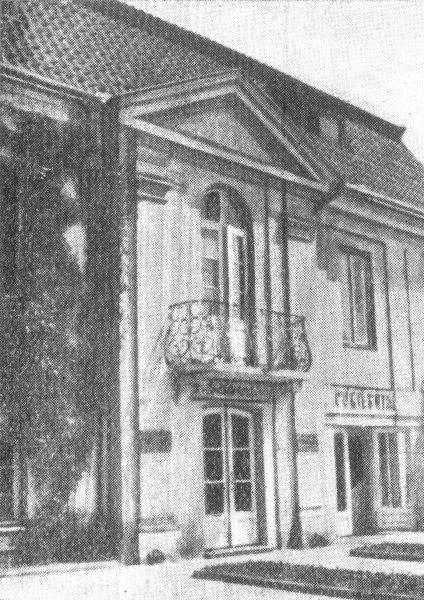 Białystok - Willa z połowy XVIII w.