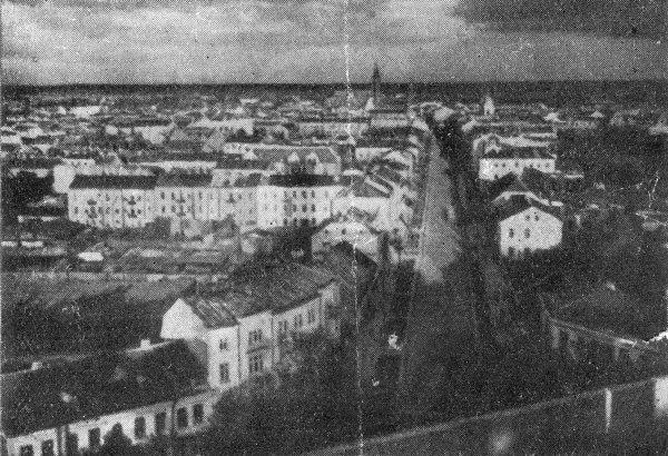 Białystok z wieży koscioła św. Rocha