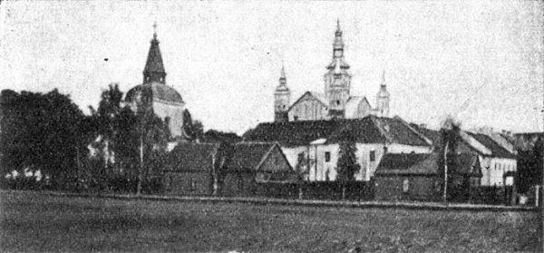 Supraśl - kościół i klasztor