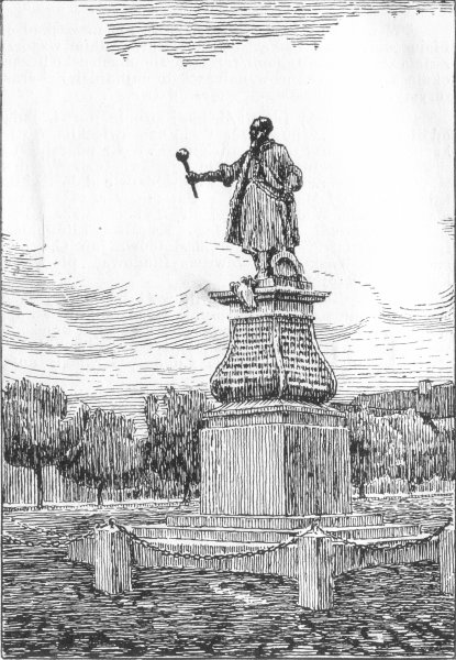 Tykocin - Pomnik Stefana Czarneckiego w Tykocinie